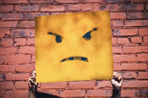 how to let go of anger at work